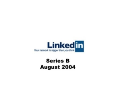 Linkedin Series B Pitch