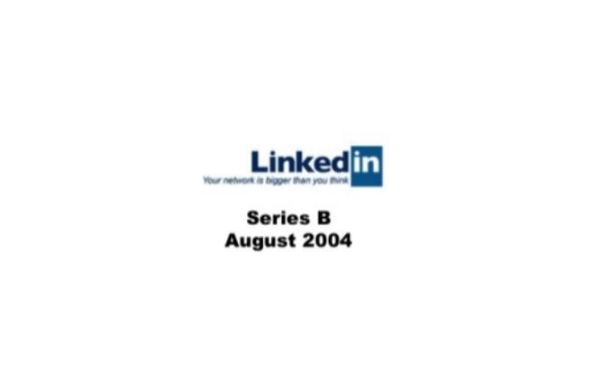 Linkedin Series B Pitch Deck