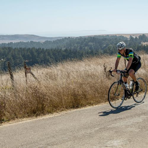 Andy LeSavage Bicycling